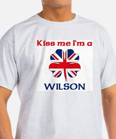 Wilson Family Ash Grey T-Shirt