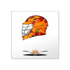 Lacrosse Fire Helmet Sticker