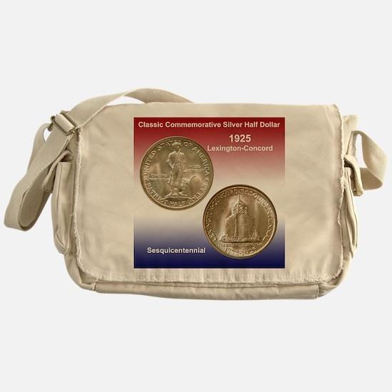 Lexington-Concord Coin Messenger Bag