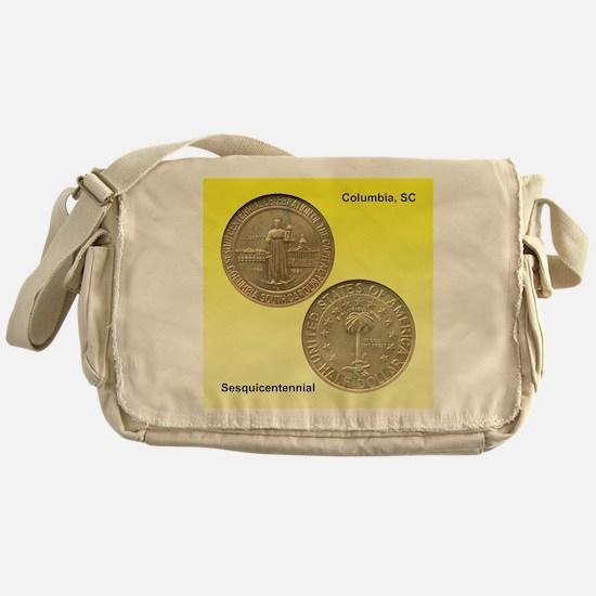 Columbia SC Sesquicentennial Coin Messenger Bag