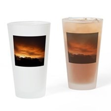 Painted by God I Drinking Glass