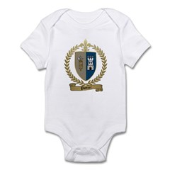 POTTIER Family Crest Infant Bodysuit