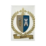 POTTIER Family Crest Rectangle Magnet (10 pack)