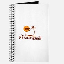 Navarre Beach - Palm Trees Design. Journal