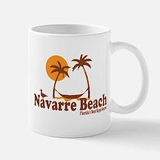 Navarre Beach - Palm Trees Design. Mug