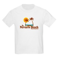 Navarre Beach - Palm Trees Design. T-Shirt