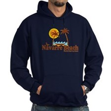 Navarre Beach - Palm Trees Design. Hoodie