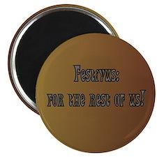 Festivus Magnets, 10 pack, round