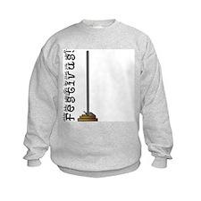 Festivus Sweatshirt, Asymmetrical Front