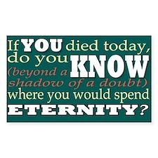eternity Stickers