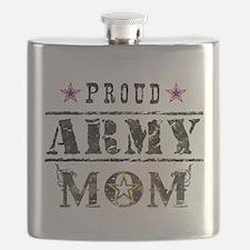 Army Mom Flask