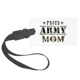 Army mom Luggage Tags