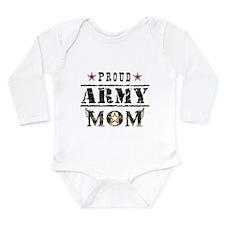 Army Mom Long Sleeve Infant Bodysuit