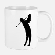 Golfing Silhouette Mug