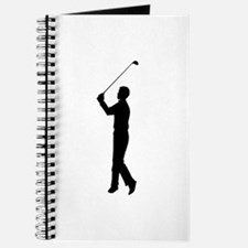 Golf Silhouette Journal