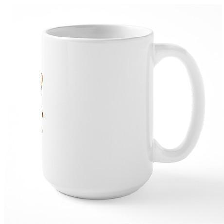 Hear See Speak No Evil Monkey Large Mug