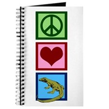 Peace Love Komodo Dragons Journal
