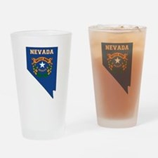 Nevada Flag Drinking Glass