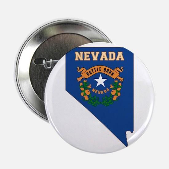 """Nevada Flag 2.25"""" Button"""