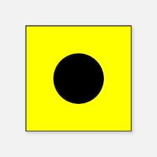 Nautical Flag Code India Sticker