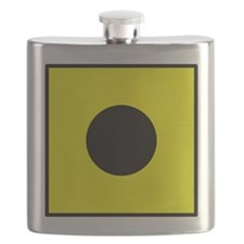 Nautical Flag Code India Flask