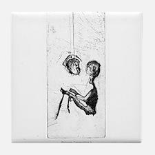 Backroom Conversations V Tile Coaster