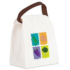 Veggies Canvas Lunch Bag