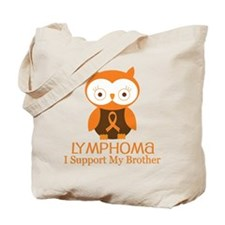 Brother Lymphoma Support Tote Bag