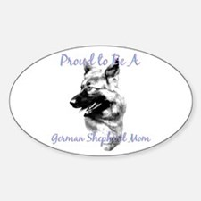 GSD 5 Oval Decal