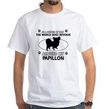 Papillon dog funny designs Shirt