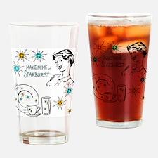 Unique Starburst Drinking Glass
