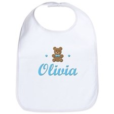 Blue Teddy - Olivia Bib