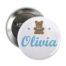 Blue Teddy - Olivia Button