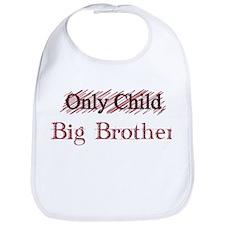 Only Child - Big Brother Bib
