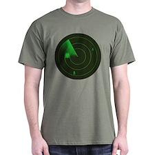 Gaydar (Men) Green T-Shirt