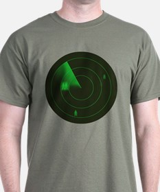 Gaydar (Men) Green T-Shirt