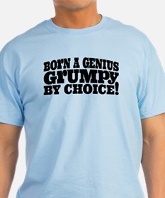 Grumpy multi-color T