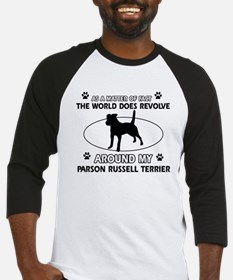 Parson Russell Terrier dog funny designs Baseball