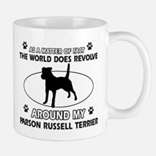 Parson Russell Terrier dog funny designs Mug