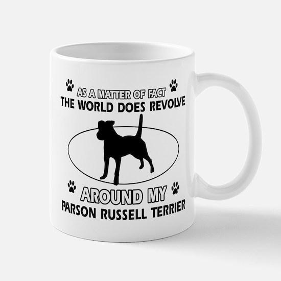Parson Russell Terrier dog funny designs Mug