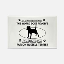 Parson Russell Terrier dog funny designs Rectangle