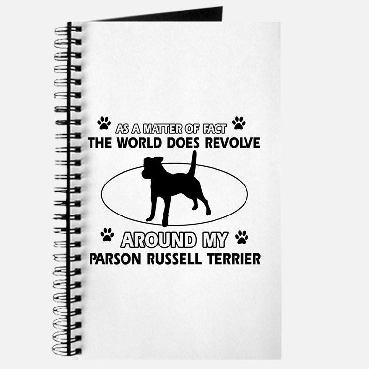 Parson Russell Terrier dog funny designs Journal