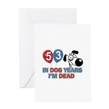 53 year old gift ideas Greeting Card