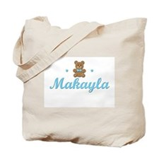 Blue Teddy - Makayla Tote Bag