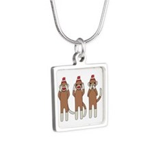 Three Monkeys Necklaces