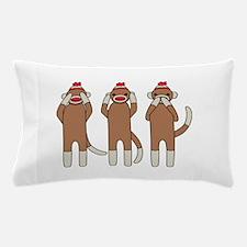 Three Monkeys Pillow Case