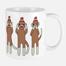 Three Monkeys Mug