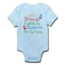 Awesome Like My Poppy Infant Bodysuit