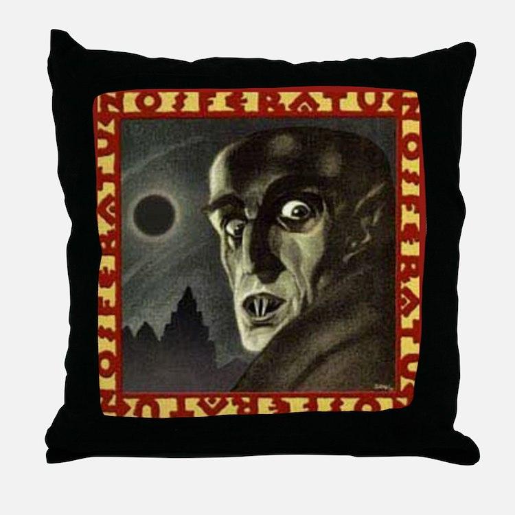 Nosferatu (1922) Throw Pillow
