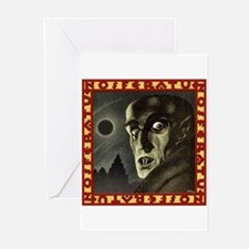 Nosferatu (1922) Greeting Cards (Pk of 10)